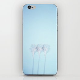 Triple Exposed Palm Trees iPhone Skin