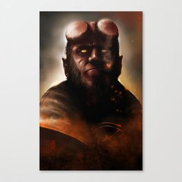 THE BOY FROM HELL Canvas Print