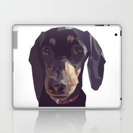 Geometric Sausage Dog Digitally Created Laptop & iPad Skin