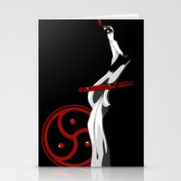 bdsm Stationery Cards featuring BDSM by Vanesa Abati
