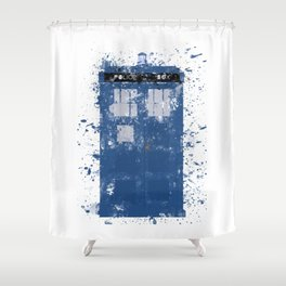 T.A.R.D.I.S. Shower Curtain