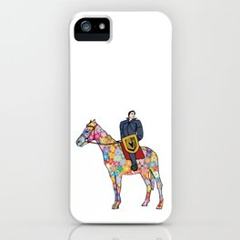 Sir Flower the Golden Knight iPhone Case