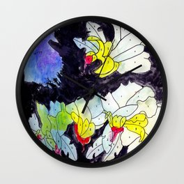 Paint by numbers Wall Clock