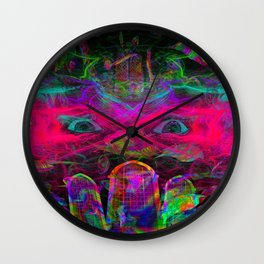 The Eyes of The Mystic Wall Clock