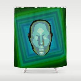being green Shower Curtain