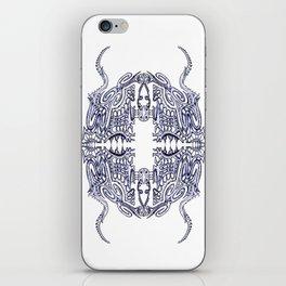 Alien Abstract iPhone Skin