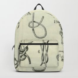 Vintage Knots Chart Backpack