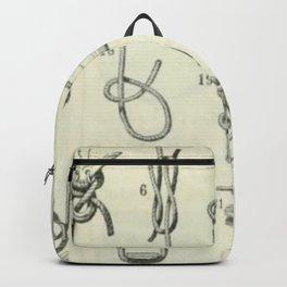 Vintage Knots Chart Backpack