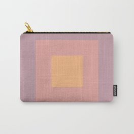 Pastel Squares Carry-All Pouch
