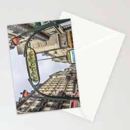 Paris Metropolitan Sign Stationery Cards
