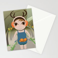 Deery Fairy and Oranges Stationery Cards