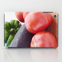 vegetables iPad Cases featuring Vegetables by Carlo Toffolo