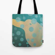 Dolphin underwater! Tote Bag