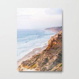 Rocky San Diego Coastline Fine Art Print Metal Print
