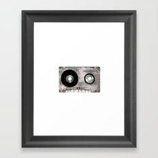 Dead Record Framed Art Print