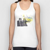 pulp Tank Tops featuring Pulp Fiction by idillard