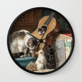 The Musicians Wall Clock