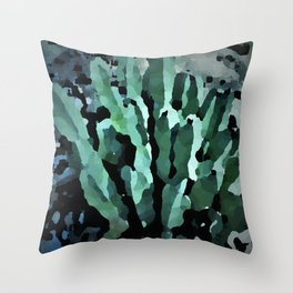 desert anenome Throw Pillow