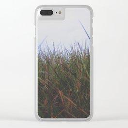 Grassy Fields Clear iPhone Case