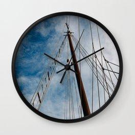 Charleston Sailboat Wall Clock