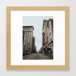 Knoxville Framed Art Print