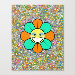 SUPER FLOWER POWER Canvas Print