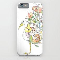 Bird of Flowers Slim Case iPhone 6s