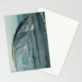 Ocean Feather Stationery Cards