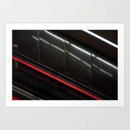 Surface Tension: Subway Art Print