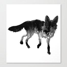Ink Fox Canvas Print