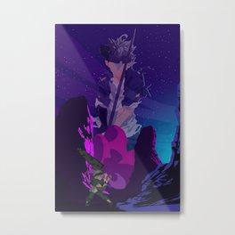 Black Clover Asta Metal Print