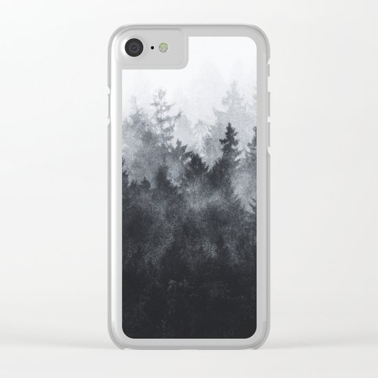 The Heart Of My Heart // Midwinter Edit Clear iPhone Case