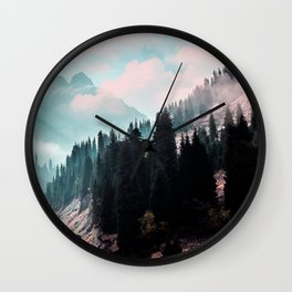 The Juxtaposed Creation #society6 #decor #buyart Wall Clock