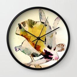Wilde Orchidee Wall Clock