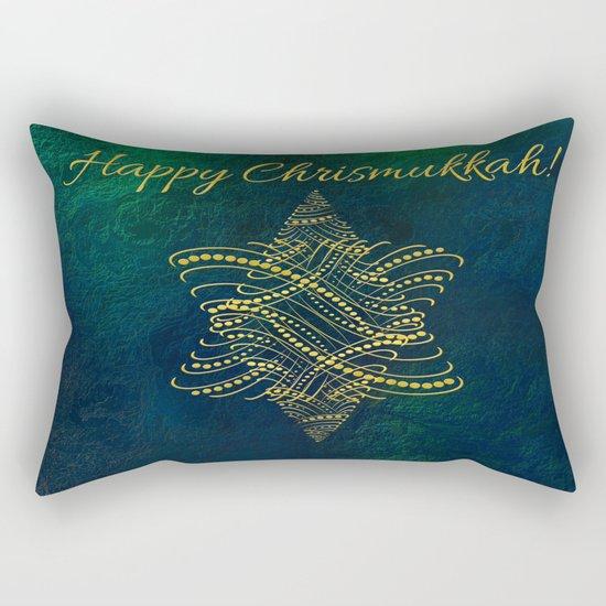 Happy Chrismukkah! Rectangular Pillow