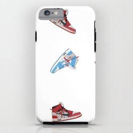 Jordan 1 Offwhites Pattern iPhone Case