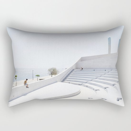 Fundação Champalimaud Lisbon Rectangular Pillow