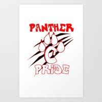 panther pride Art Print