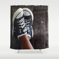 feet Shower Curtains featuring Feet by Sara_photographer