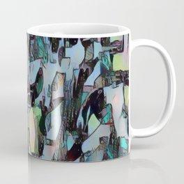 Chaos in Blue Coffee Mug