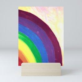 rainbow love (z) Mini Art Print