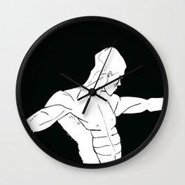 The strong man Wall Clock