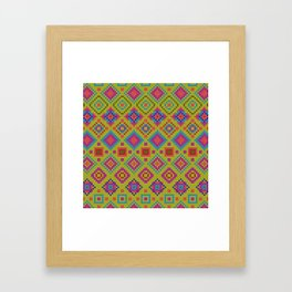 """and the x-dust says """"let's dance"""" Framed Art Print"""