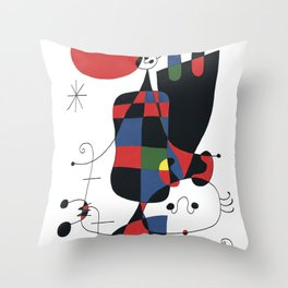Joan Mirò #1 Throw Pillow