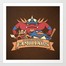 The Other World Familiars Art Print