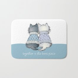 Together is the best place Bath Mat