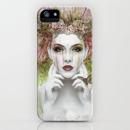 Woman in the Jungle iPhone Case