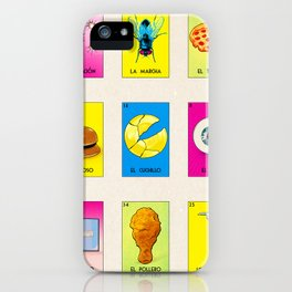 BB LOTERIA POD CASE & SKIN iPhone Case