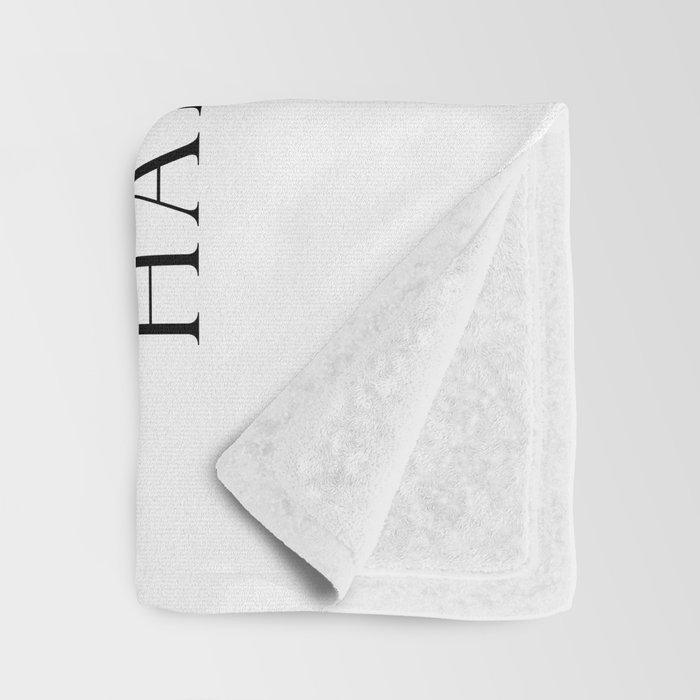 Once upon a time she said fuck this Throw Blanket