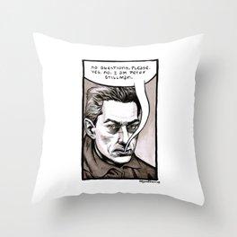 Peter Stillman Throw Pillow